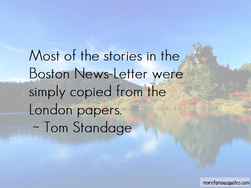 Tom Standage Quotes