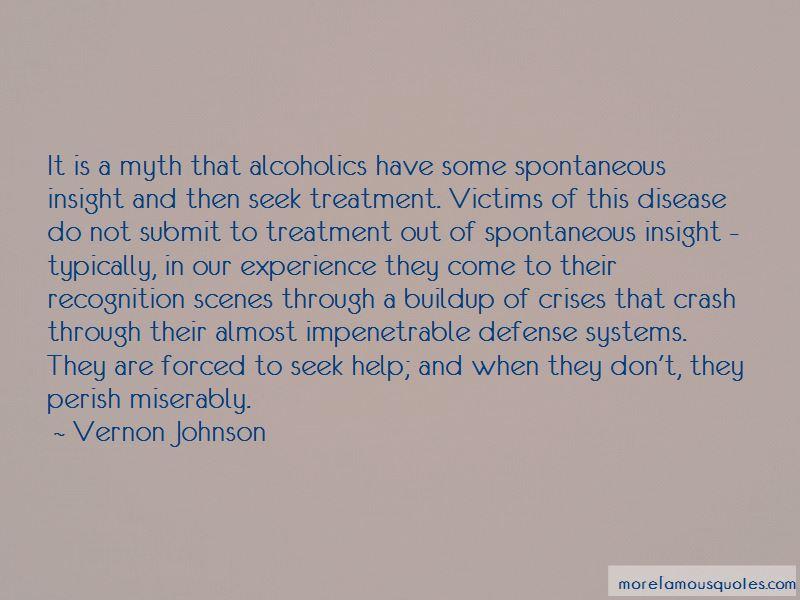 Vernon Johnson Quotes