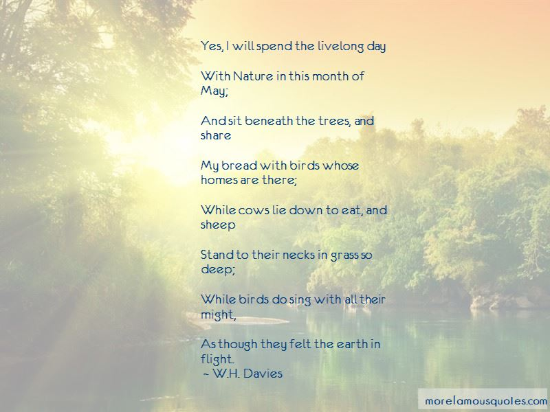 W.H. Davies Quotes Pictures 2