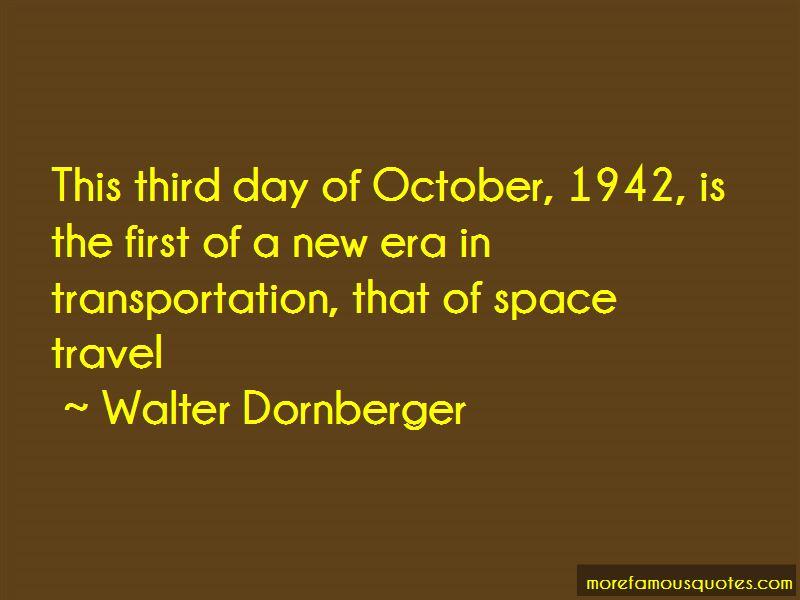 Walter Dornberger Quotes Pictures 2