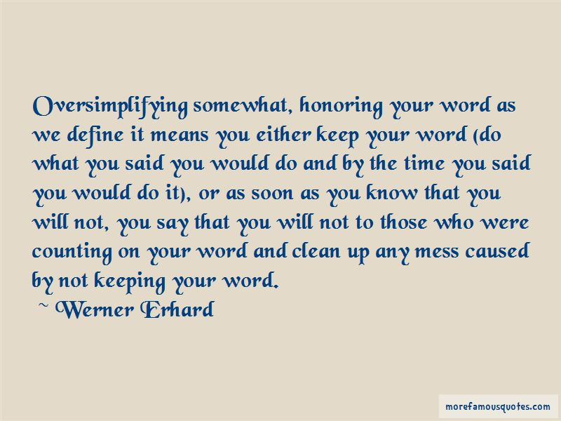 Werner Erhard Quotes Pictures 2