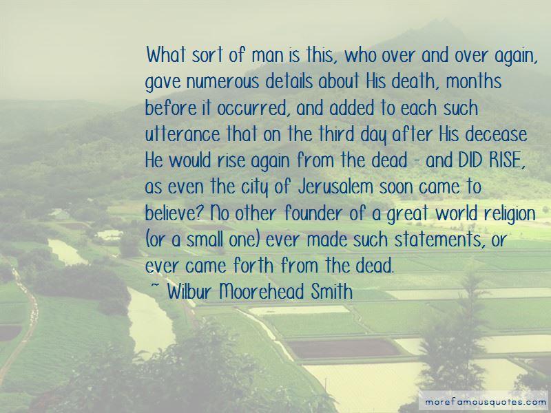 Wilbur Moorehead Smith Quotes