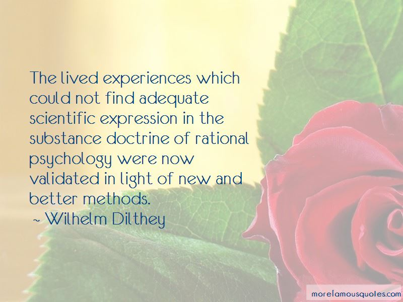 Wilhelm Dilthey Quotes Pictures 2