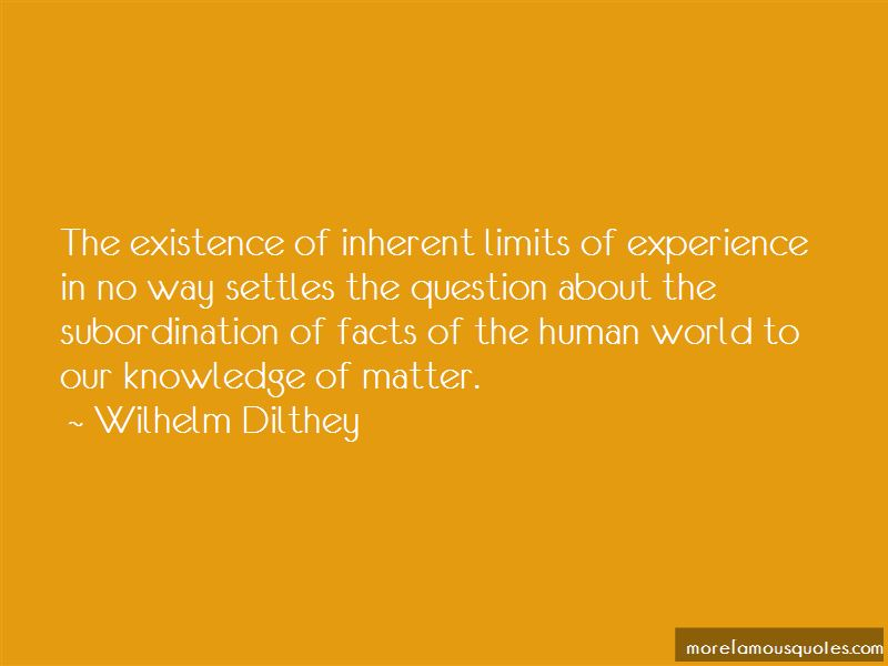 Wilhelm Dilthey Quotes Pictures 3