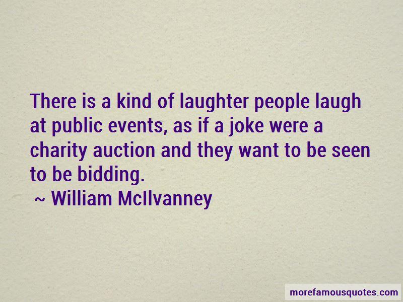 William McIlvanney Quotes