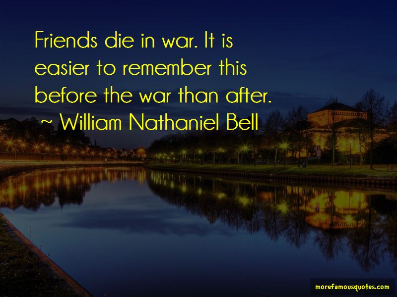 William Nathaniel Bell Quotes