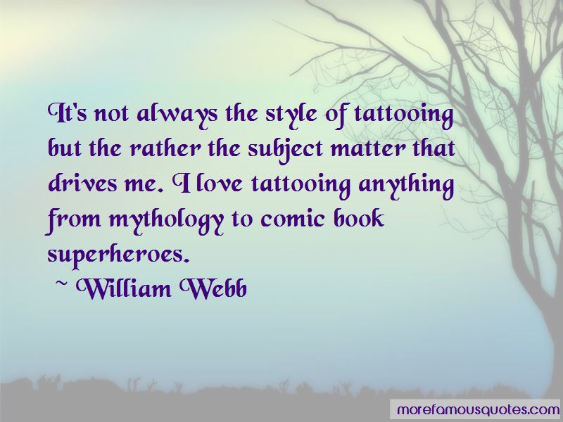 William Webb Quotes Pictures 4