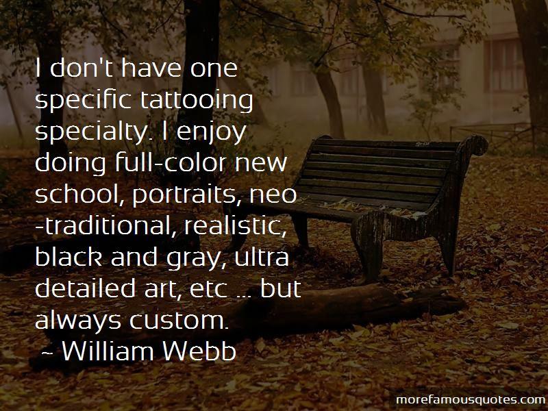 William Webb Quotes