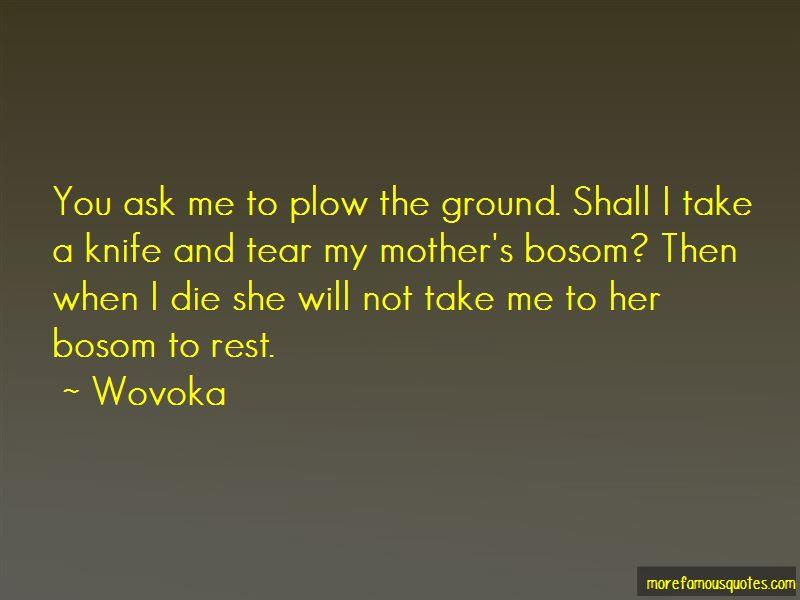 Wovoka Quotes