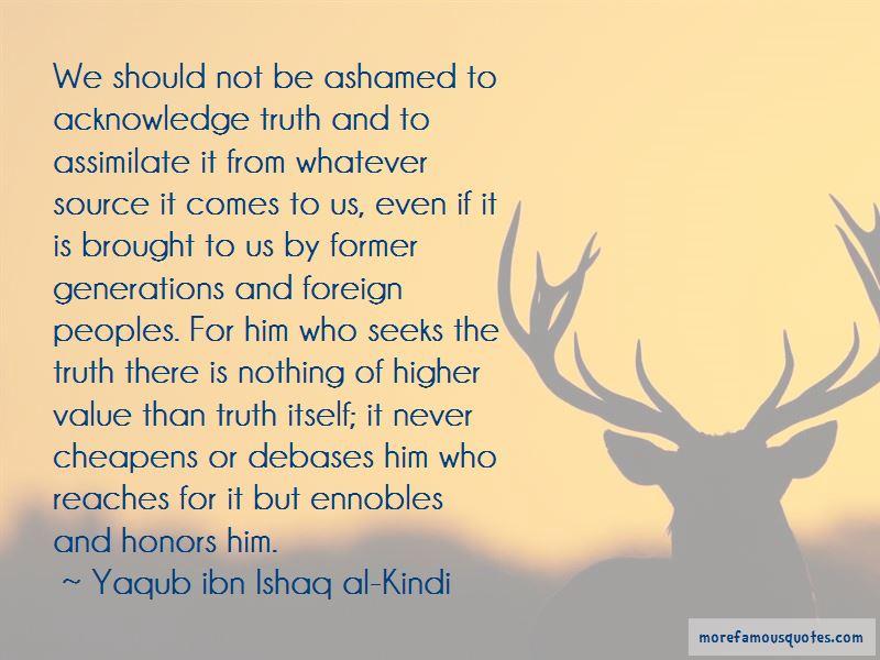 Yaqub Ibn Ishaq Al-Kindi Quotes