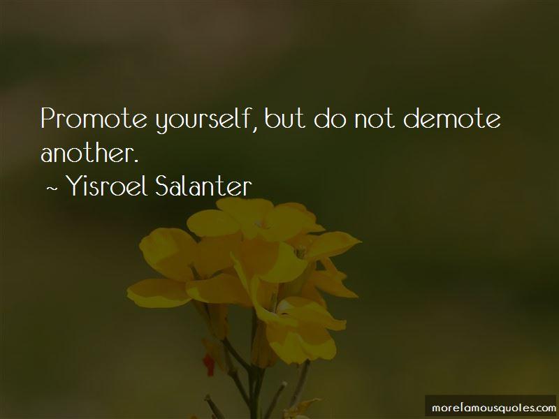 Yisroel Salanter Quotes