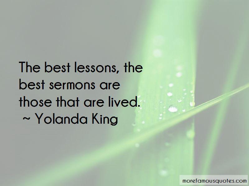 Yolanda King Quotes