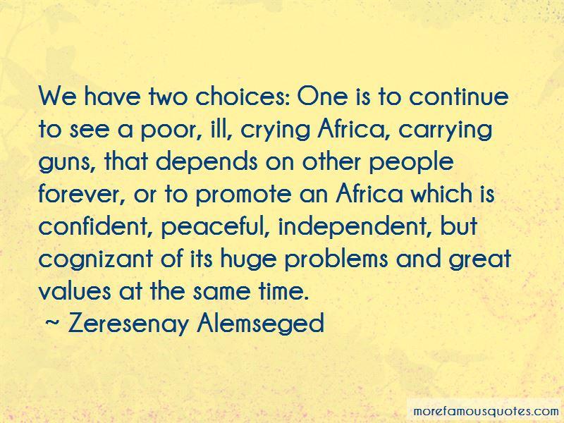 Zeresenay Alemseged Quotes Pictures 2