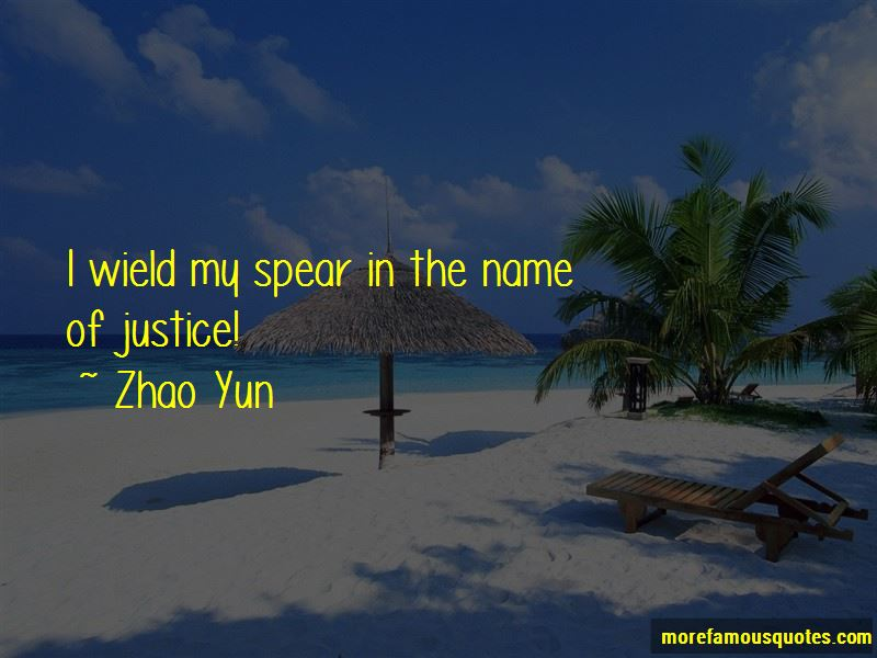 Zhao Yun Quotes Pictures 2
