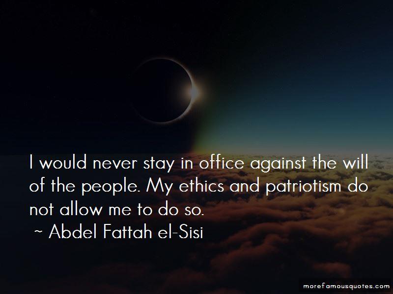 Abdel Fattah El-Sisi Quotes