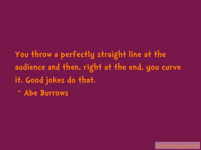 Abe Burrows Quotes Pictures 4