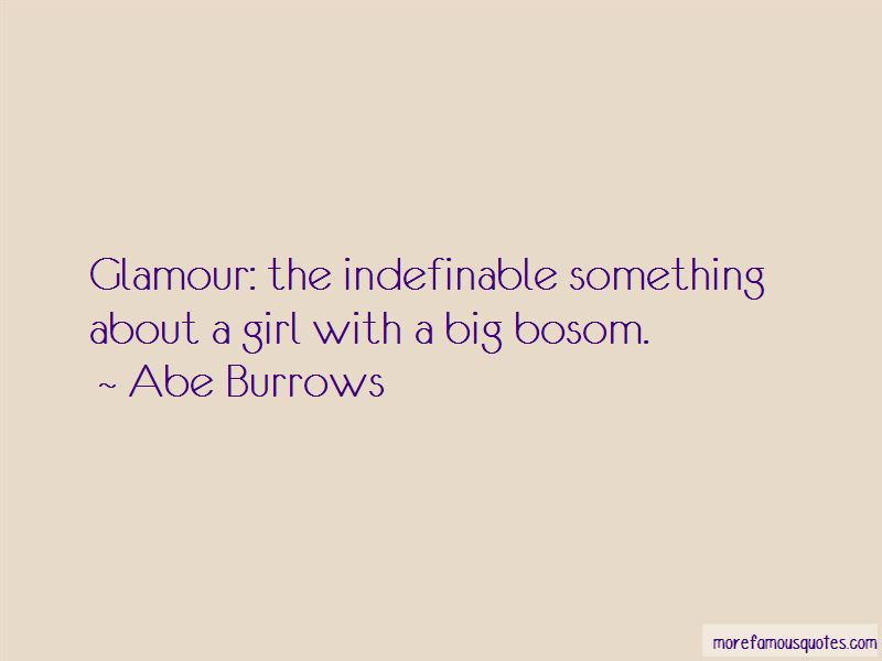 Abe Burrows Quotes