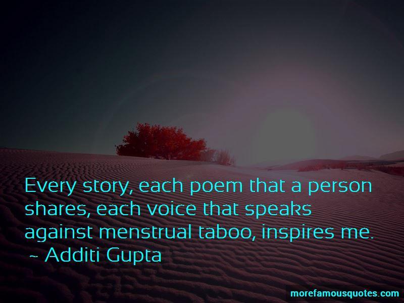 Additi Gupta Quotes