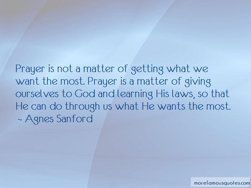 Agnes Sanford Quotes Pictures 2