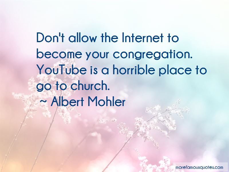 Albert Mohler Quotes Pictures 3