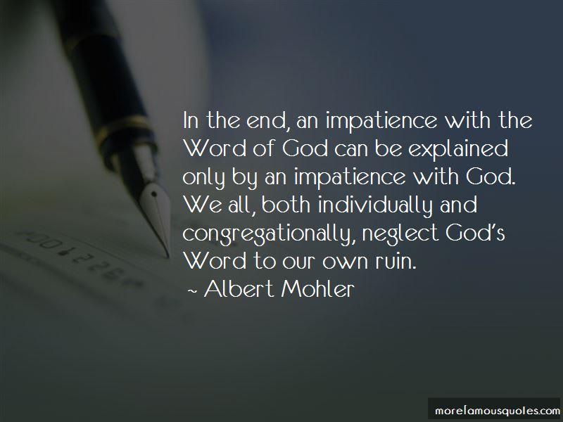 Albert Mohler Quotes