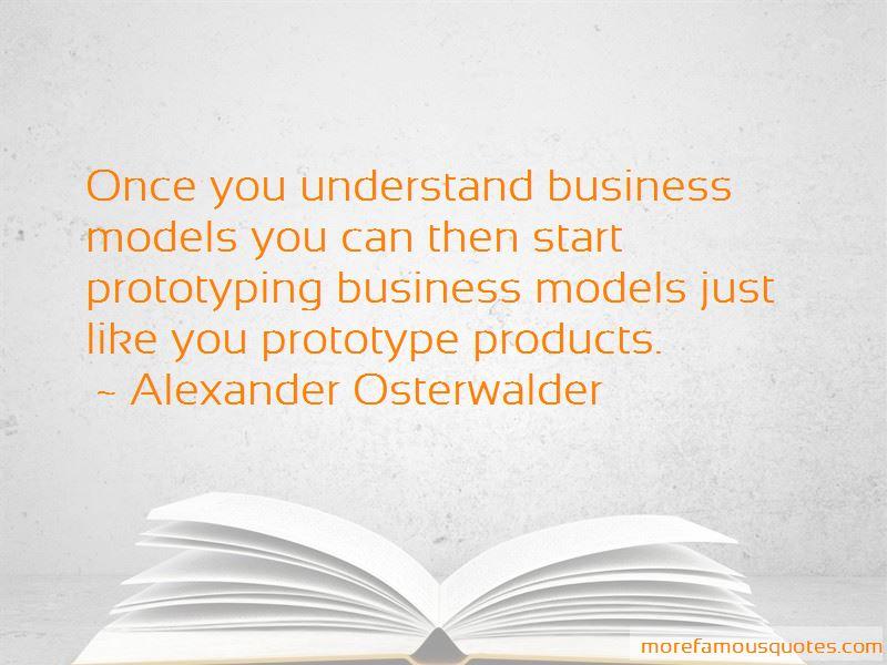 alexander osterwalder model