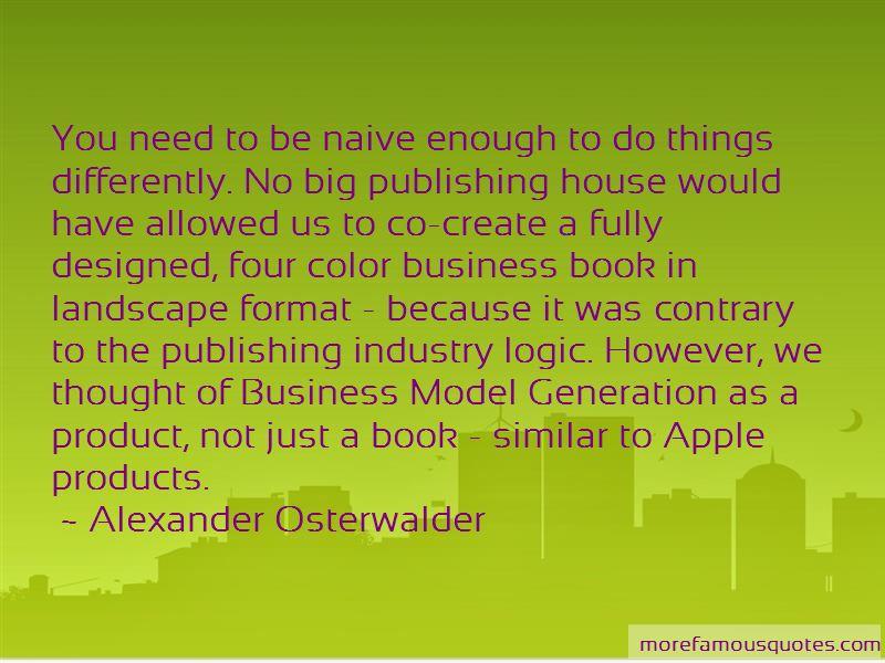 Alexander Osterwalder Quotes Pictures 4