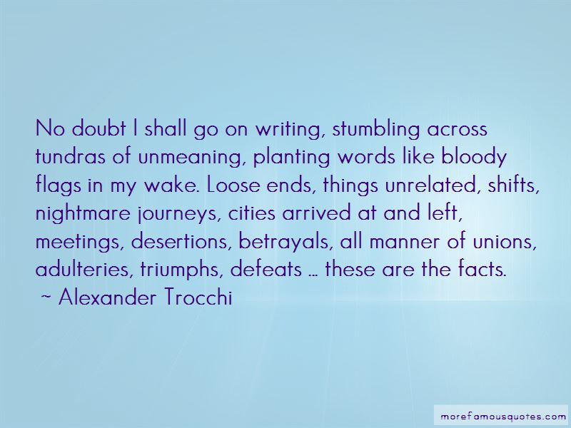 Alexander Trocchi Quotes