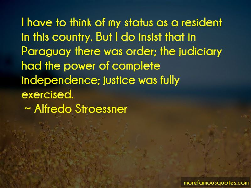 Alfredo Stroessner Quotes Pictures 2