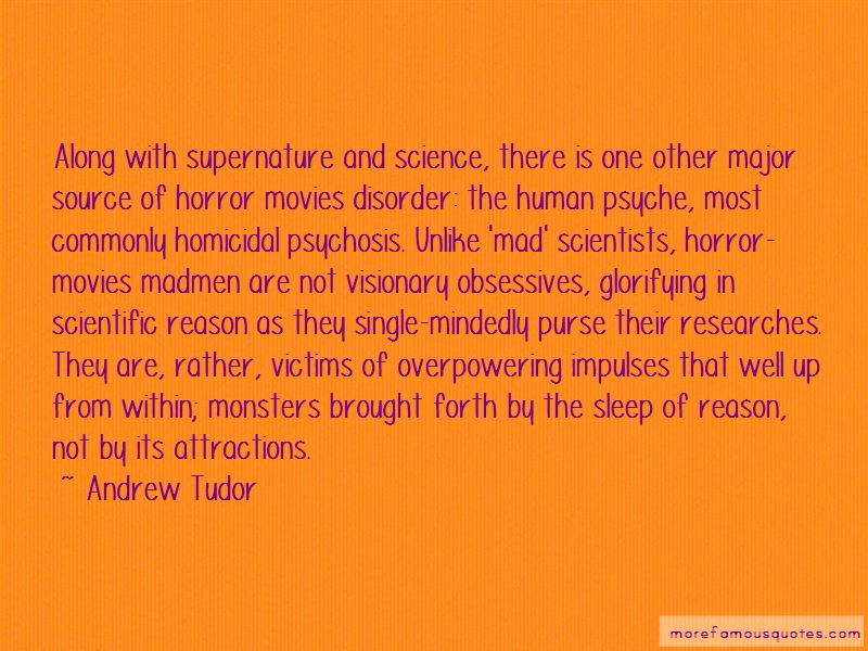 Andrew Tudor Quotes
