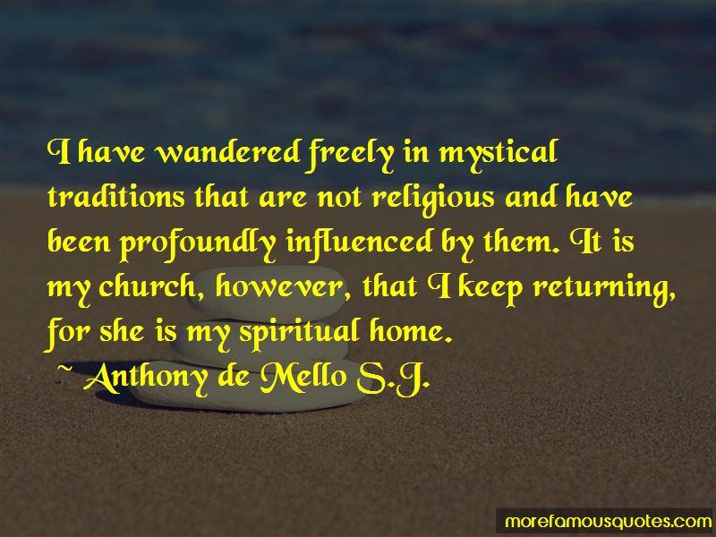 Anthony De Mello S.J. Quotes