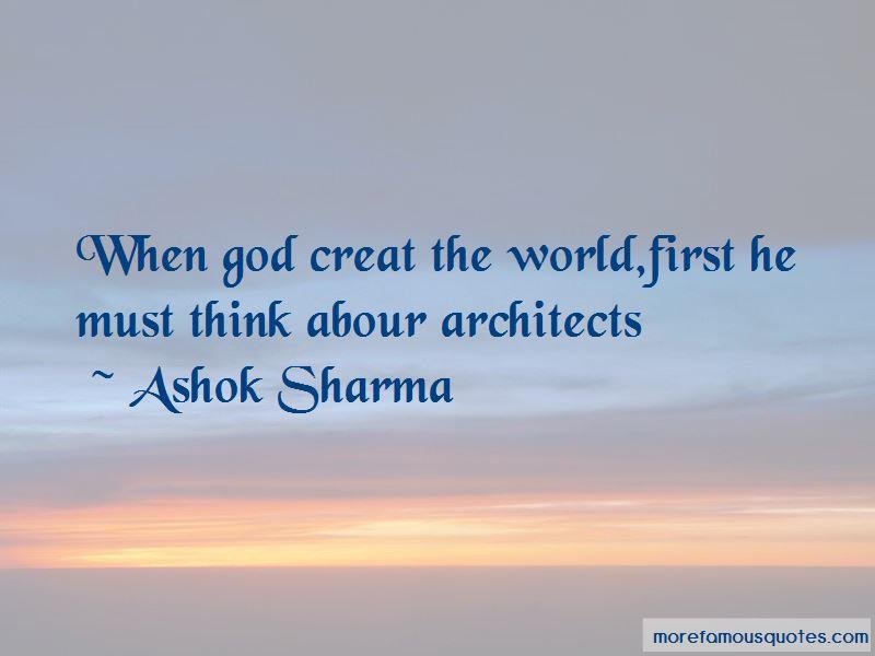 Ashok Sharma Quotes