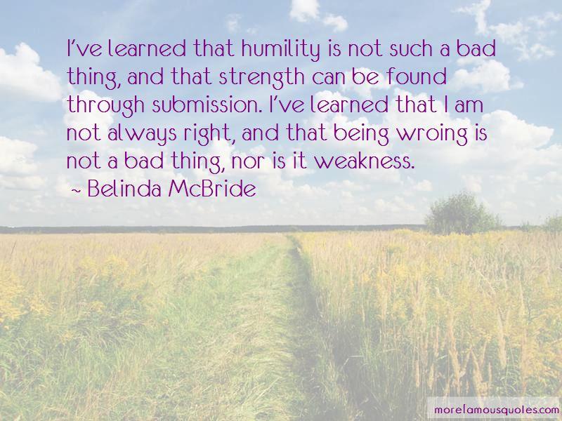 Belinda McBride Quotes Pictures 3