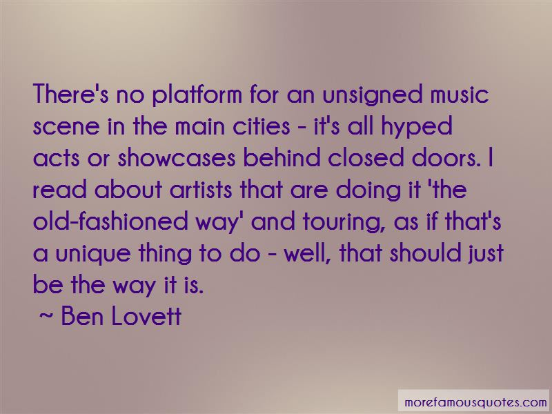 Ben Lovett Quotes Pictures 3