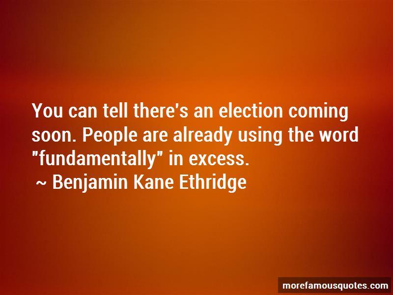 Benjamin Kane Ethridge Quotes Pictures 3