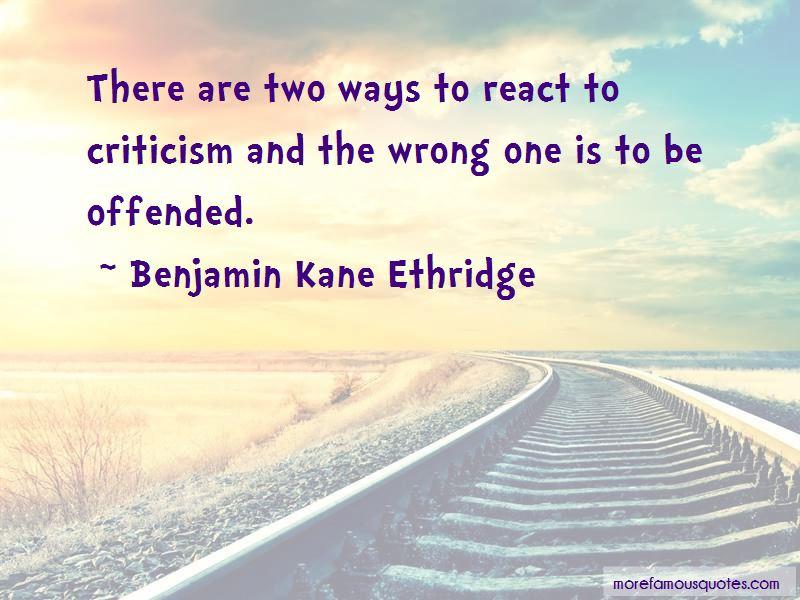 Benjamin Kane Ethridge Quotes