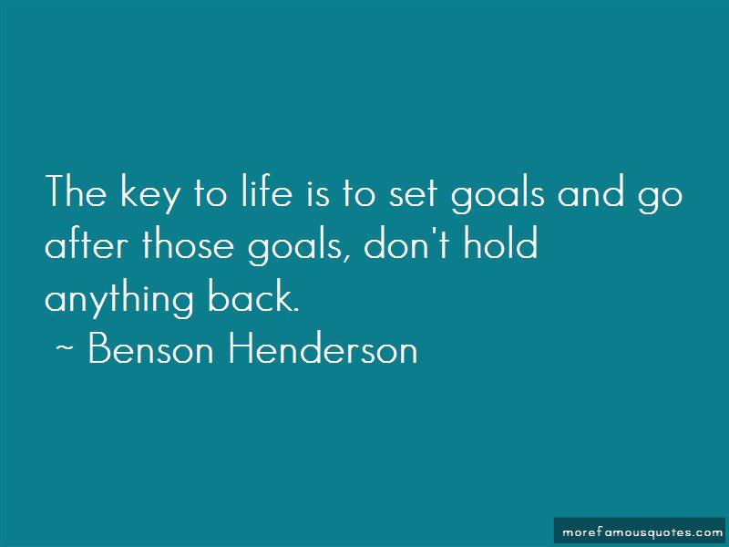 Benson Henderson Quotes Pictures 4