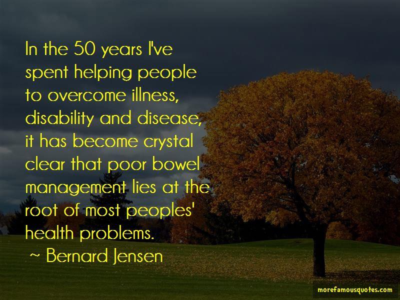 Bernard Jensen Quotes Pictures 4