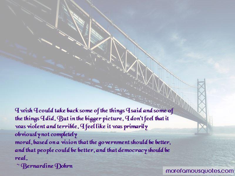 Bernardine Dohrn Quotes