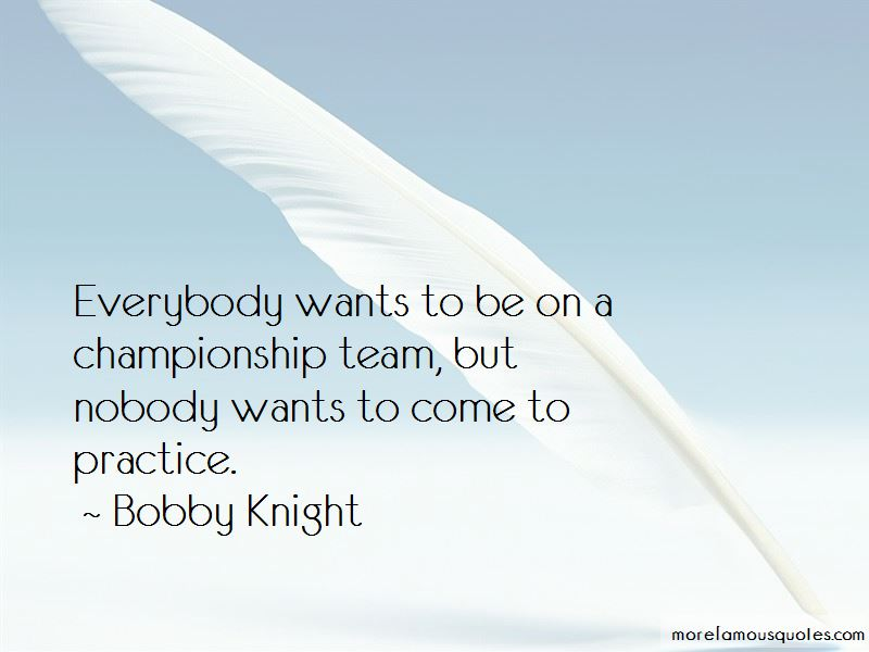 Bobby Knight Quotes Pictures 4