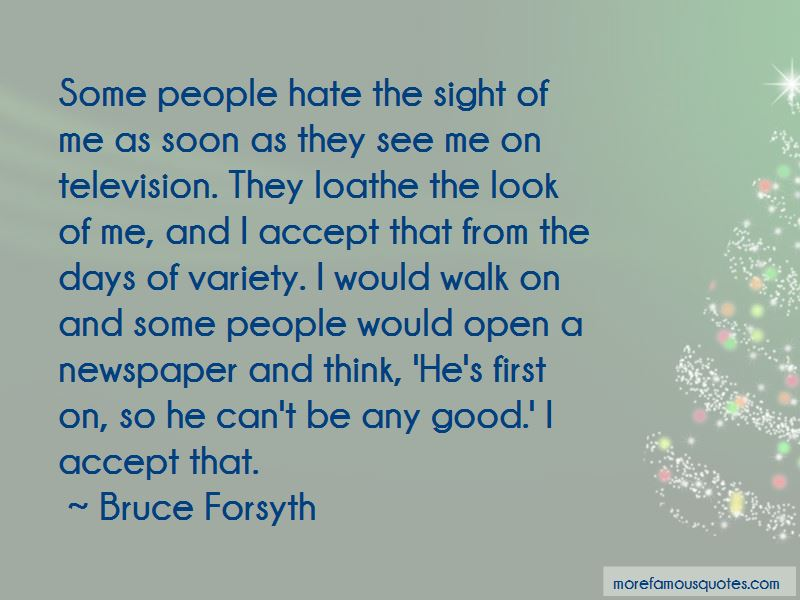 Bruce Forsyth Quotes