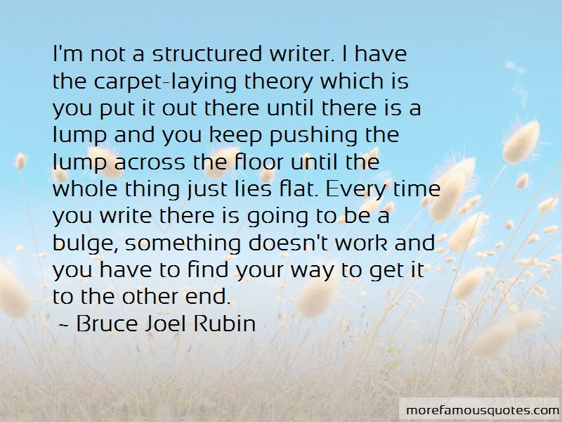 Bruce Joel Rubin Quotes Pictures 2