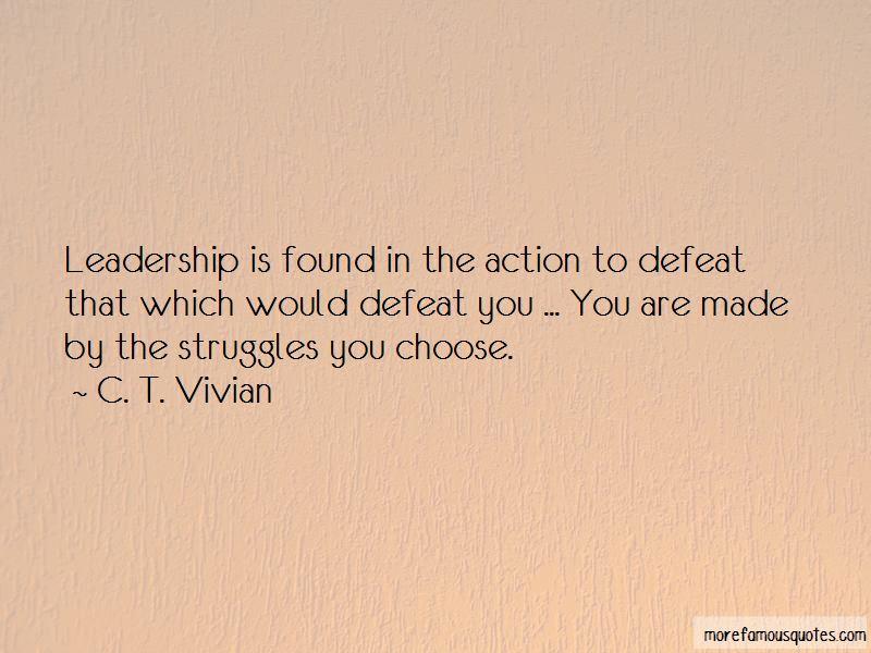 C. T. Vivian Quotes