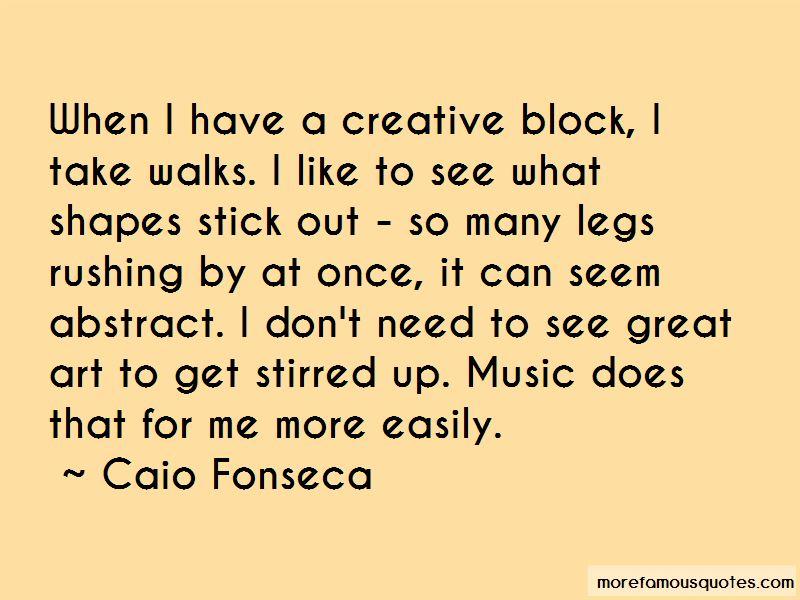 Caio Fonseca Quotes