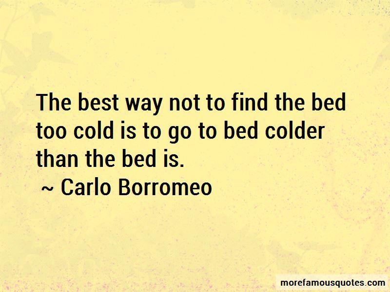 Carlo Borromeo Quotes Pictures 2