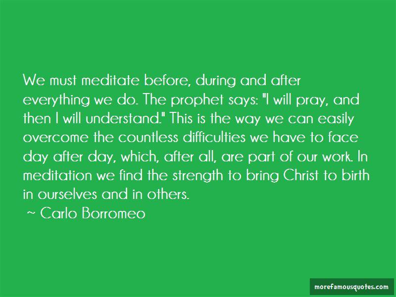 Carlo Borromeo Quotes Pictures 3