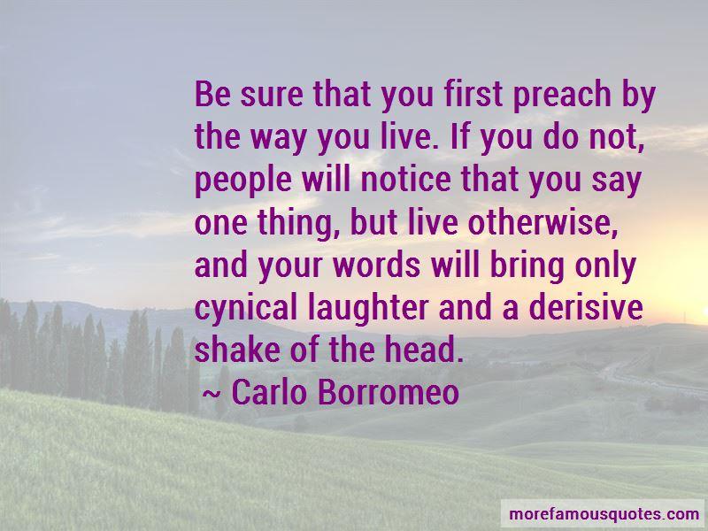 Carlo Borromeo Quotes
