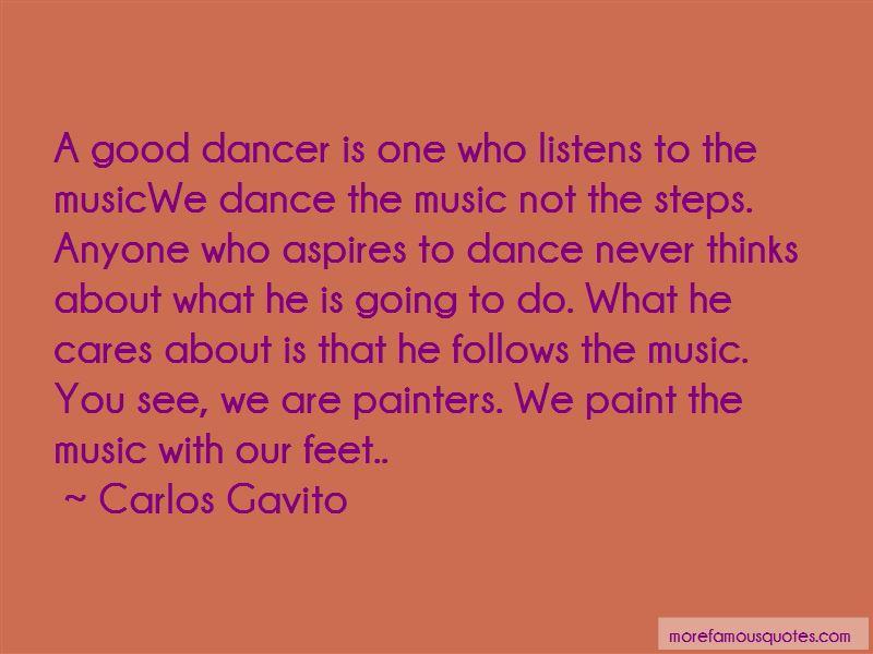 Carlos Gavito Quotes