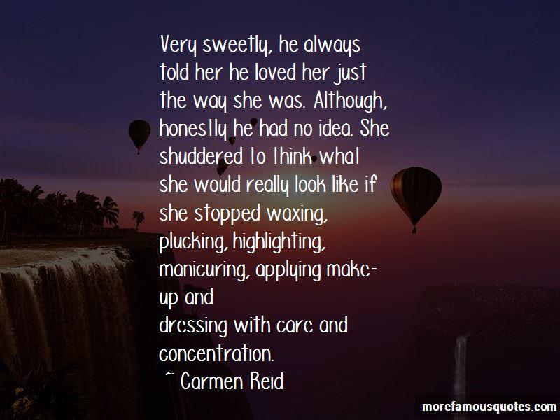 Carmen Reid Quotes