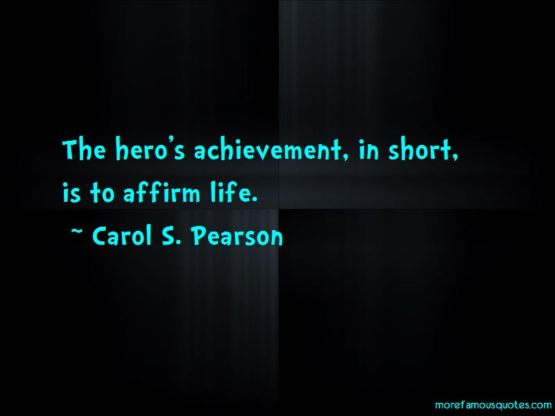Carol S. Pearson Quotes Pictures 4